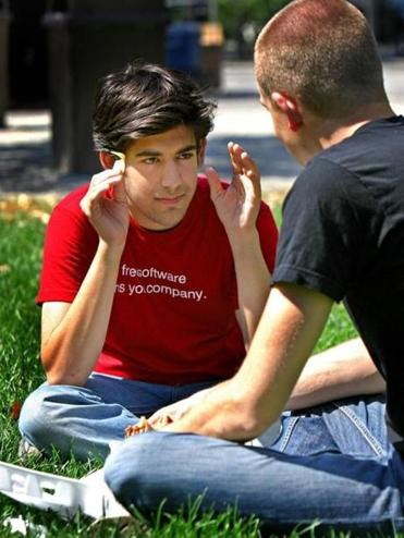 Aaron Swartz pleaded not guilty to the hacking charges on Sept. 24, 2012.